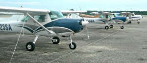 Flight Training Fleet at Cecil Airport