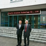 Murphy & Liu at Bowen - Pilot Training China